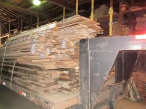 05-01-2013 Large Loads Flooring Beams coming into Lumberyard 001