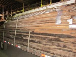 05-01-2013 Large Loads Flooring Beams coming into Lumberyard 002