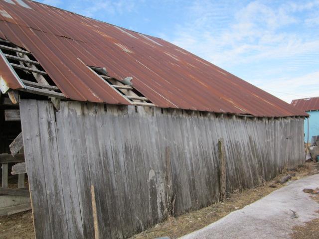 rusted barn tin ceiling - photo #6